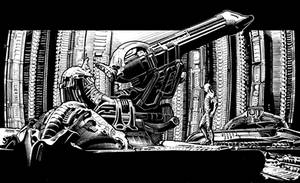 Space Jockey by ashasylum