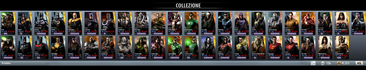 my injustice card collection by ashasylum