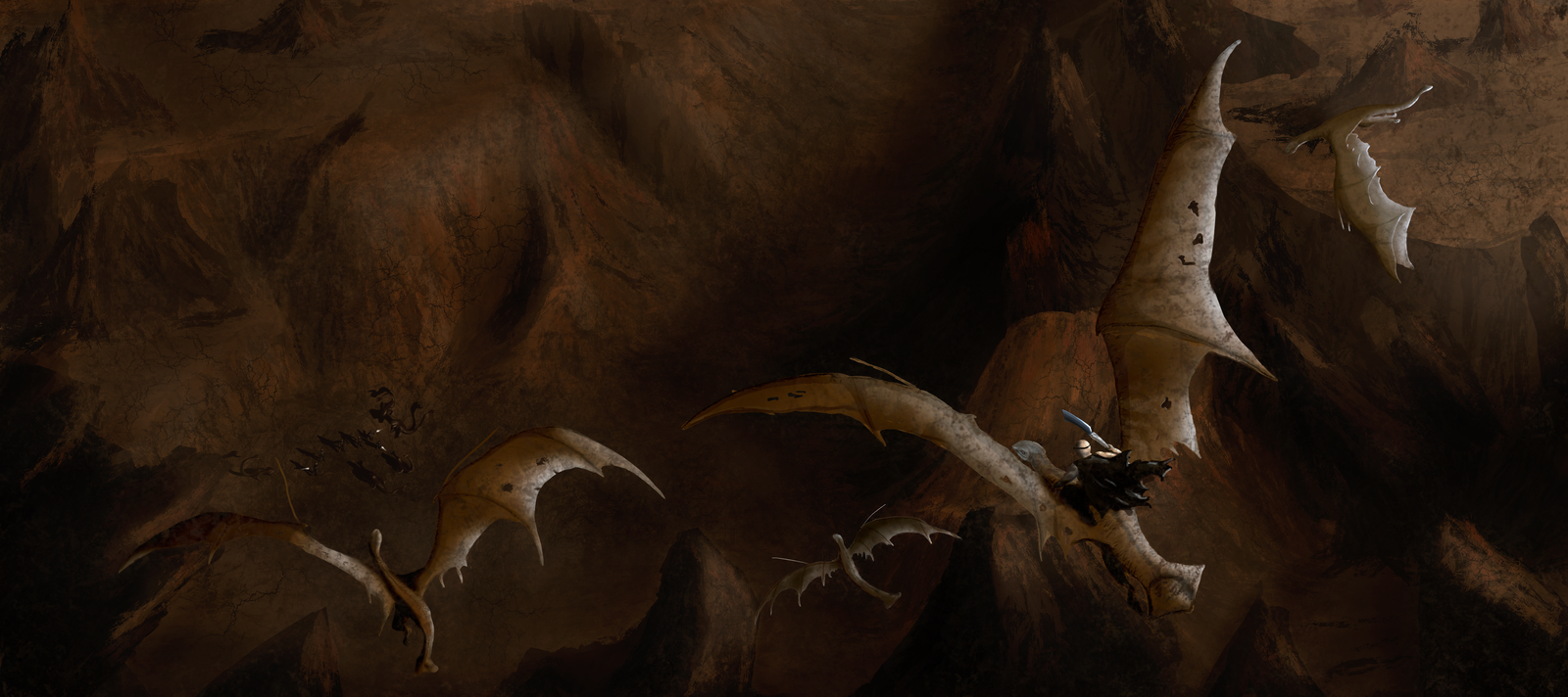 Riddick from above by ArtOfSuiter