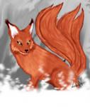 Kitsune (testing my Wacom Bamboo)