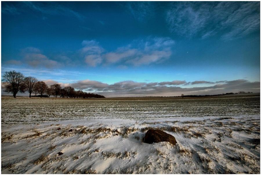 Winter landscape III by Mommus