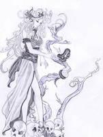 Medea e il serpente by Elezar81