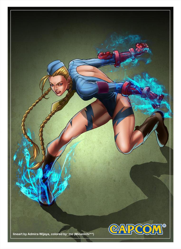 Cammy Street Fighter by ChekydotStudio
