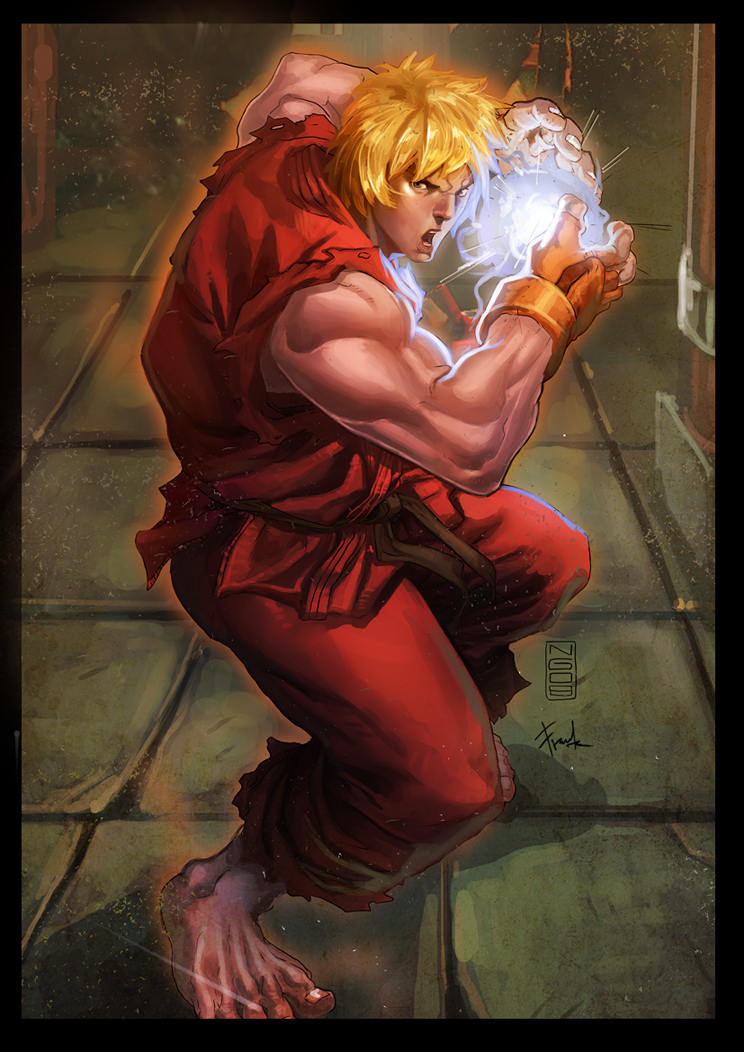 Ken - Street Fighter by ChekydotStudio