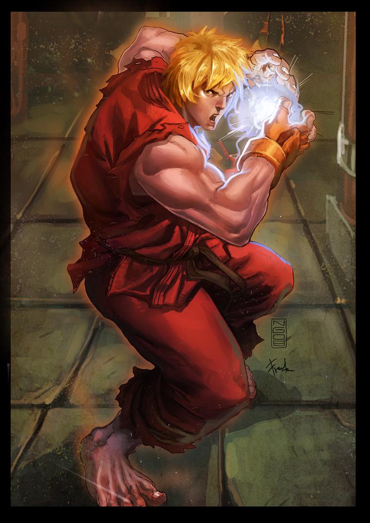 Ken - Street Fighter by ChekydotStudio