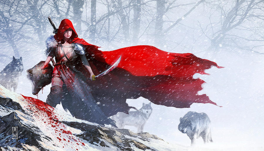 Red Riding Hood by ChekydotStudio