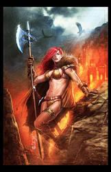 Red Sonja by ChekydotStudio