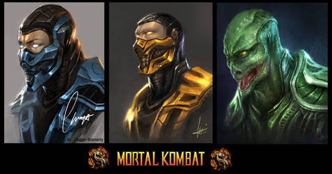Mortal kombat by ChekydotStudio