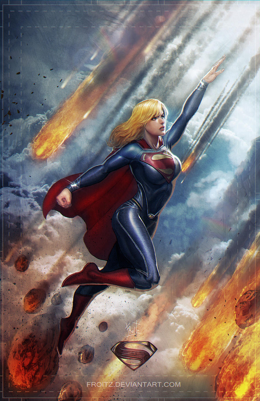 Girl Of Steel by ChekydotStudio