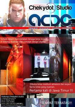 New brochure for ACDC (Admira Concept Design Cours