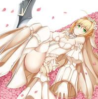 Saber (Bride) by ruminalumina