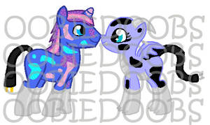 Jellybean X Unnamed Longma (Done and OPEN) by Oobiedoobs