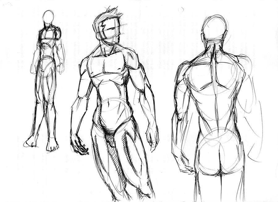 cuerpo humano masculino 01 by yojuako on DeviantArt