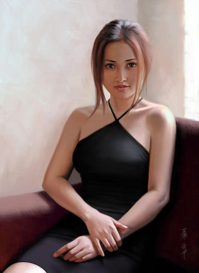 Elena Formal Portrait by Lunatique-SF