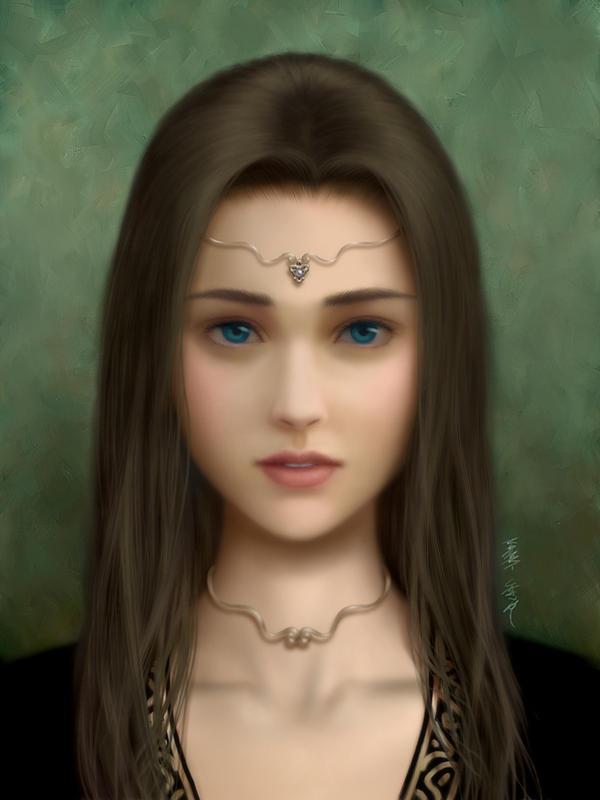 Melancholic Princess-alternate by Lunatique-SF