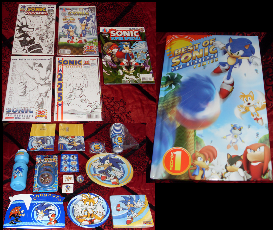 Sonic Collection .:Update 5:. by VeggieMadness