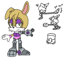 SEGA Classic Bunnie Mini Ref .:Concept:. by VeggieMadness