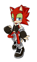 Sally X Scourge Fan Child .:Male:. by VeggieMadness