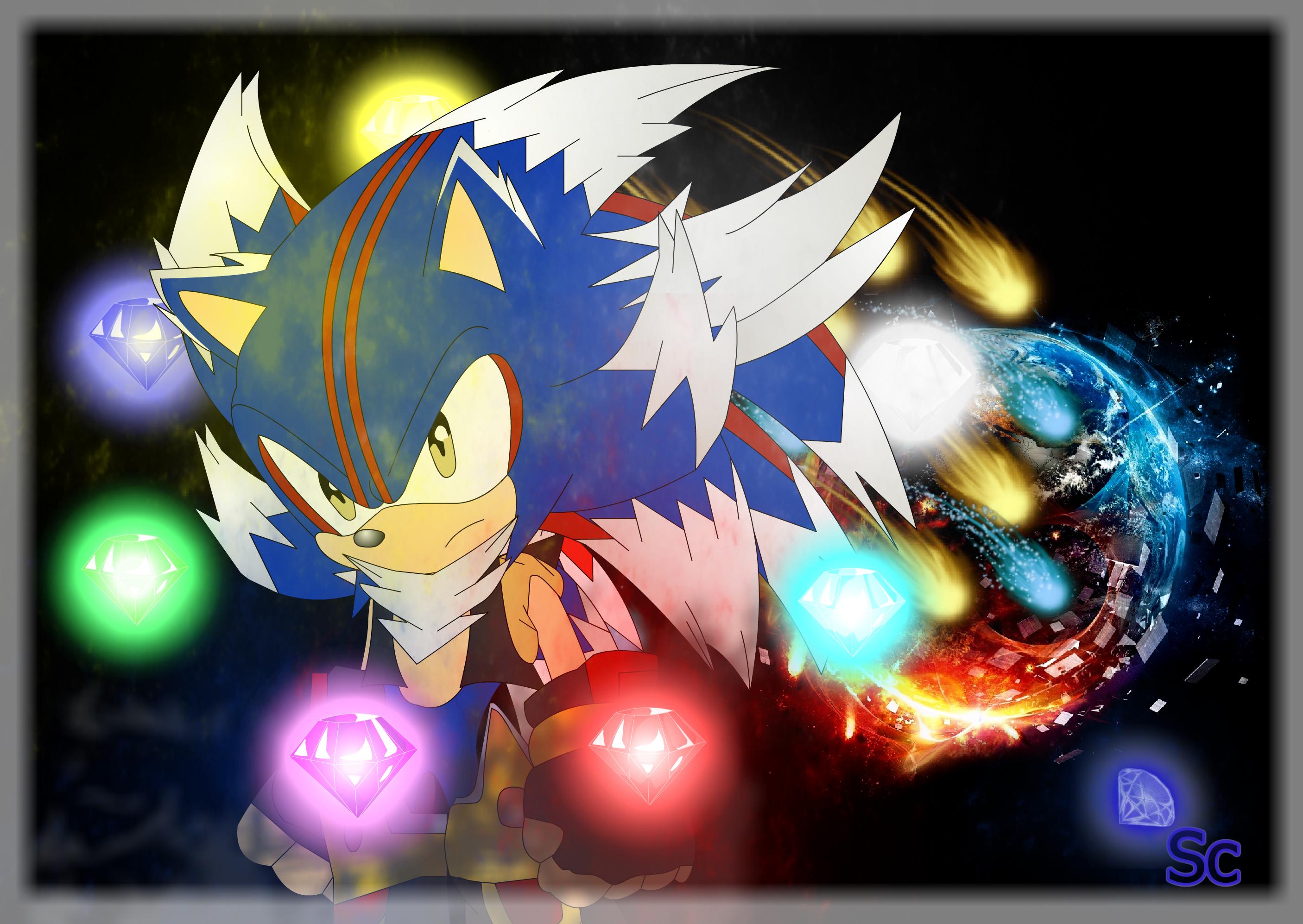 Super Sonic X Universe Shadic Fase 4 By Stevenloquenarte On Deviantart