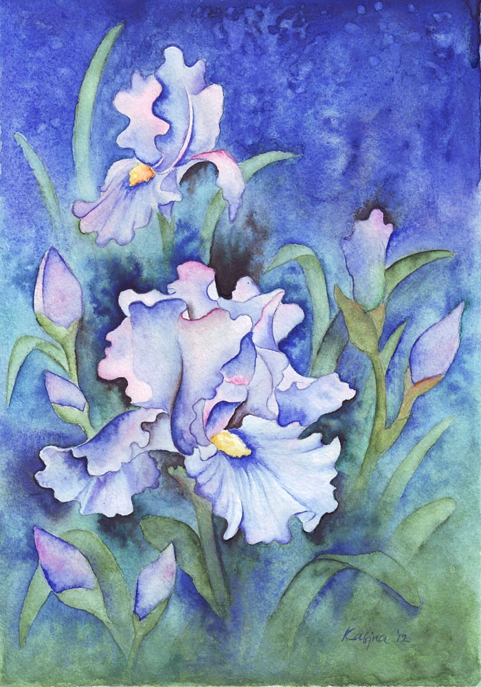 846 Irises by YourFavoriteRussian
