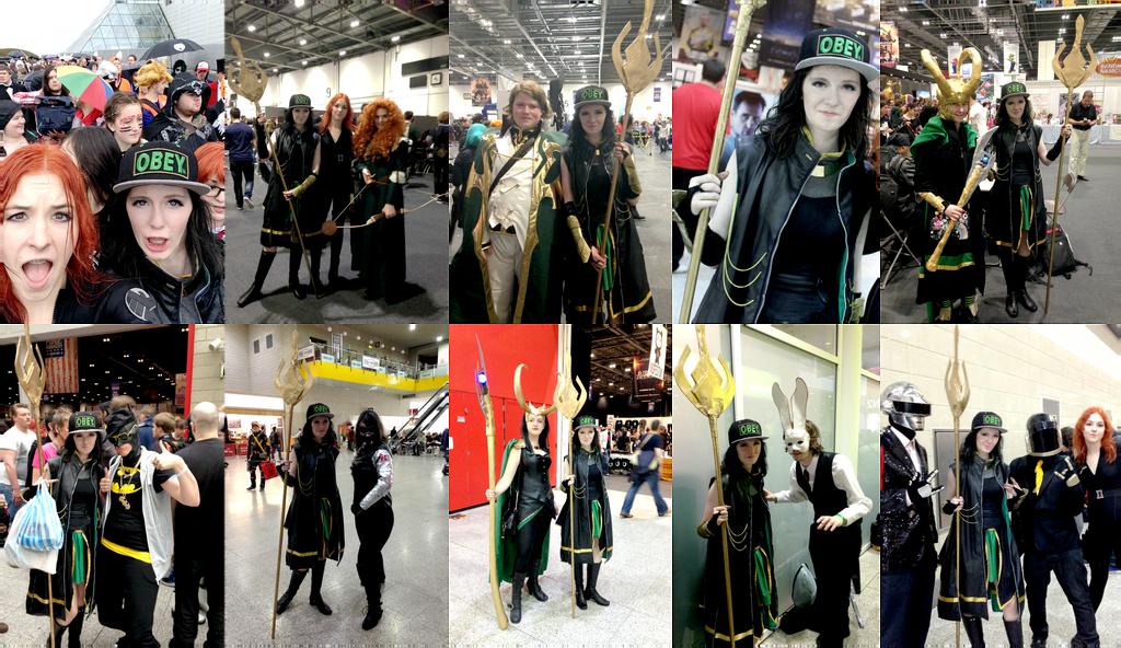 Fem!Loki (Thor) cosplay London MCM May 2014 by Iszy-chan