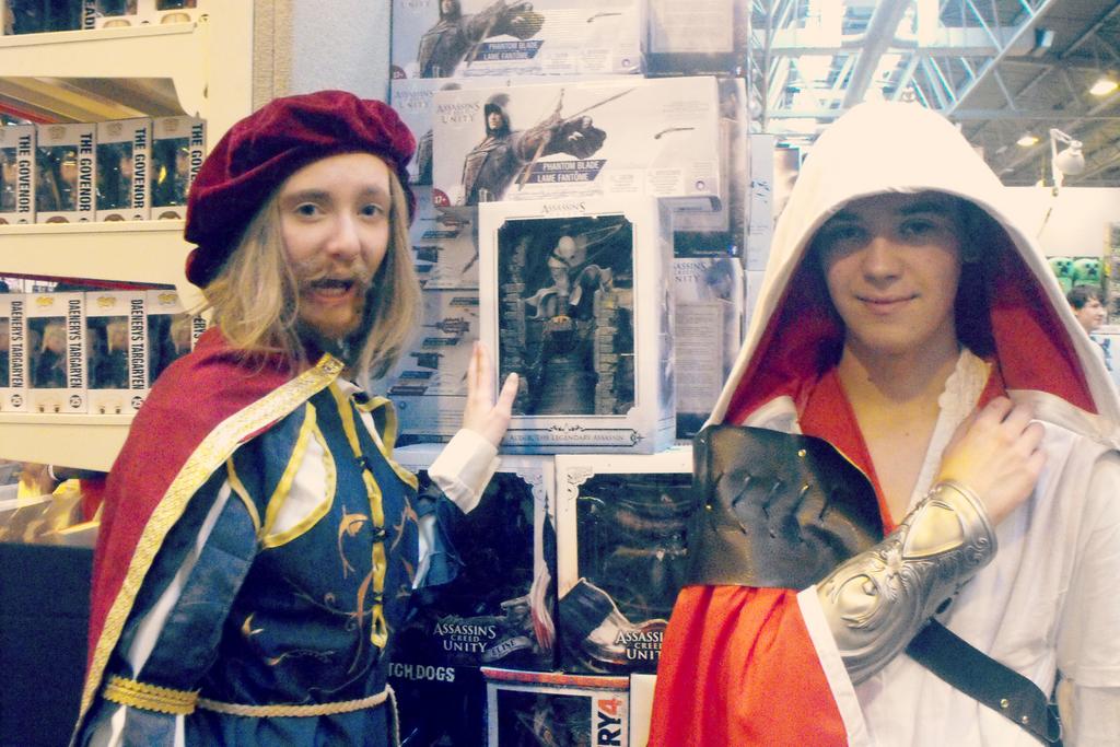 I found your ancestor, Ezio! by Iszy-chan
