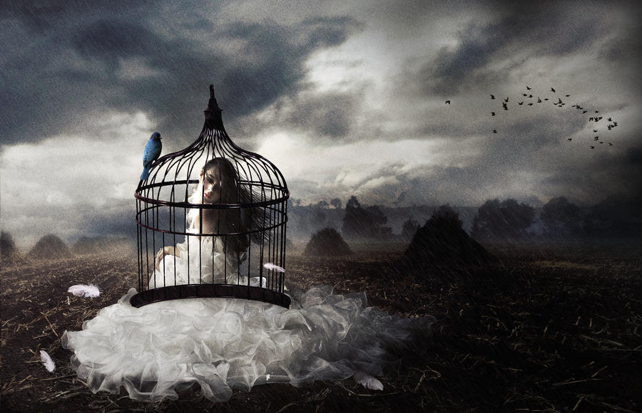 Caged by Lucifer-Black