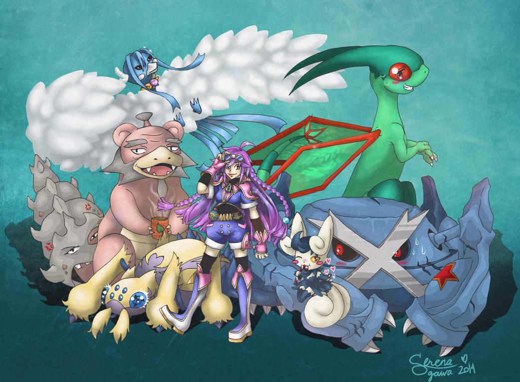 Lotus Stern and company by mangaka-serena