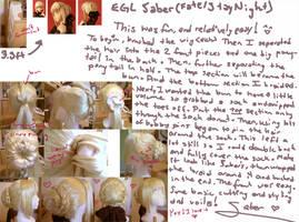 Saber Wig Project by mangaka-serena