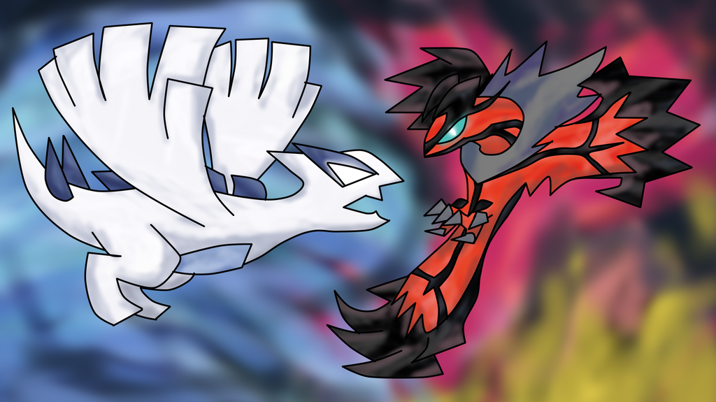 Lugia Vs Yveltal By Turb0s0ic333