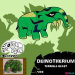 Deinotherium by IMPULSEimpact