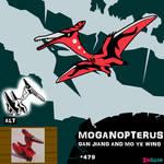 Moganopterus by IMPULSEimpact