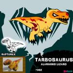 Tarbosaurus by IMPULSEimpact