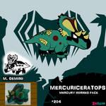 Mercuriceratops by IMPULSEimpact