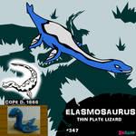 Elasmosaurus by IMPULSEimpact
