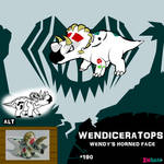 Wendiceratops by IMPULSEimpact