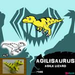 Agilisaurus by IMPULSEimpact