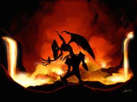 Preparing for battle by Robin-Mendoza