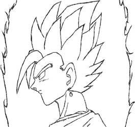 Vegeto - Super Saiyan God
