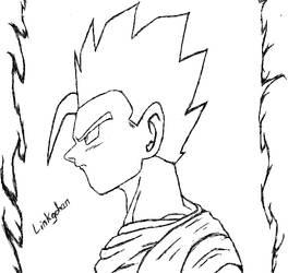 Gohan- Super Saiyan God