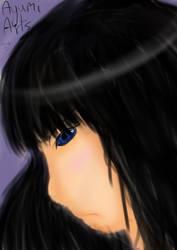 Ayumi portrait by usako12