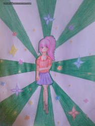 Girl colored~ by usako12