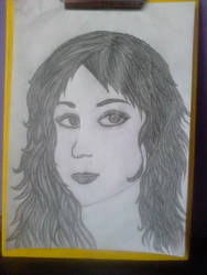 First Portrait by usako12