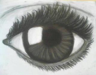 Eye sketch~ by usako12