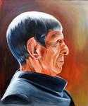 Spock Prime by meilin-mao