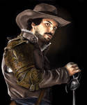 The musketeers BBC - Aramis