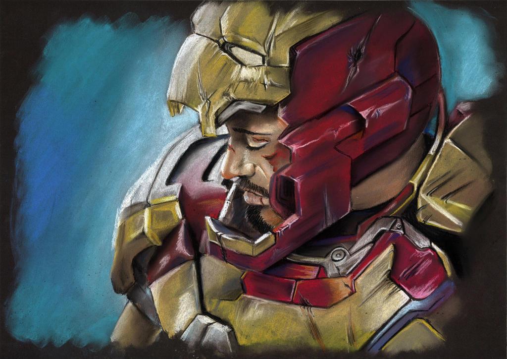 Iron Man by meilin-mao