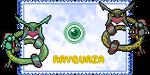 Rayquaza stamp by Kyuzeth