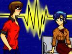 Seto Kaiba(Yu-Gi-Oh) and Ami(Sailor Moon) 2