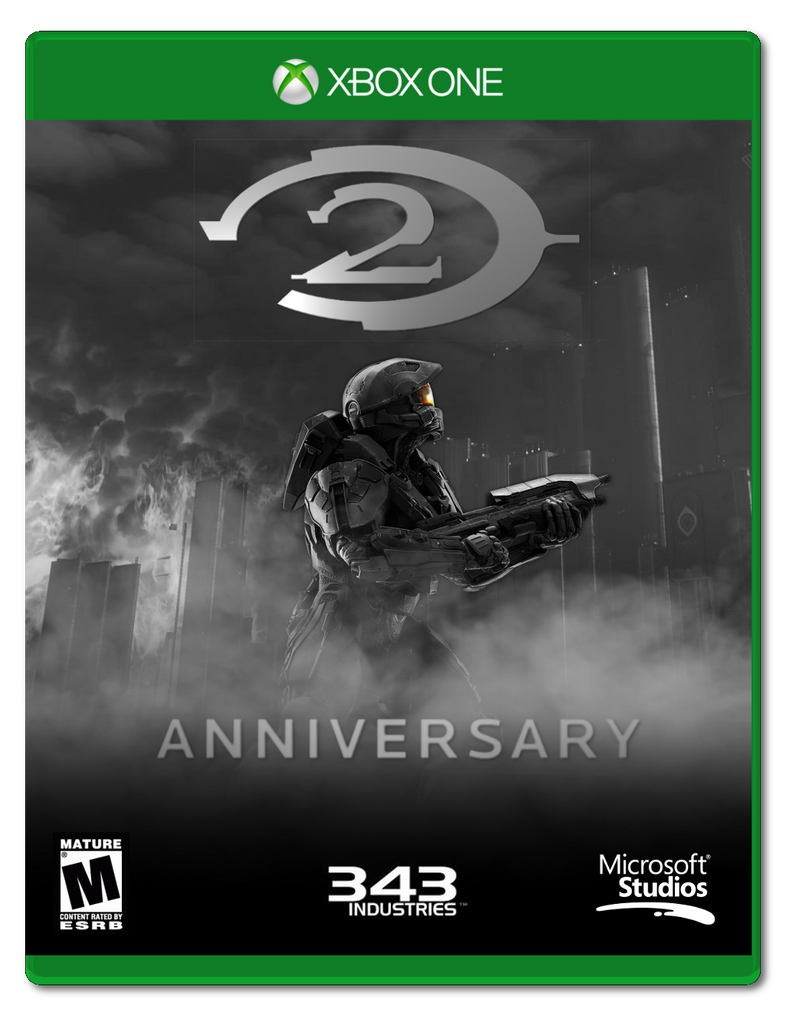 Halo 2 Anniversary [Box Art] by F1yingPinapp1e